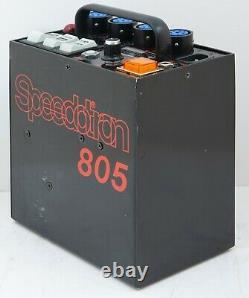 Speedotron Black Line Studio Strobe Lighting 805 Power Supply Pack Vgc 800 Watt