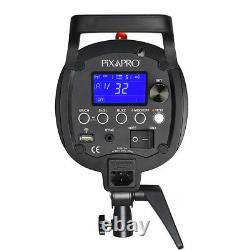 Studio Flash Stroboscopique 600ws Éclairage Photographie Récepteur Intégré Qs600ii Gn76