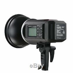 Ttl Uk Godox De 2.4g Studio Portable Strobe Flash Light + Deux LI Kit Batteries