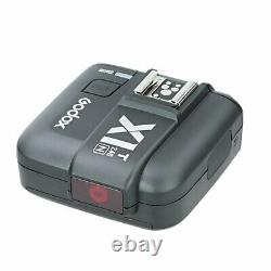 Uk En Stock Godox 2.4 Ttl 1/8000s Double Head Ad200 Pocket Flash+x1t-n Pour Nikon