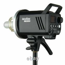 Uk Godox 2.4g Ms300 300ws Studio Strobe Tête De Caméra Avec Flash Gratuit Réflecteur