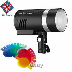 Uk Godox Ad300pro 300w 2.4g Ttl All-in-one Outdoor Flash Strobe Light 1/8000 Hss