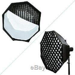Uk Godox Ad600bm 2.4g Hss 1 / 8000s Flash Studio Strobe Bowen Kit De Montage Pour Canon