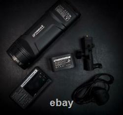 Visico 2 Portable Flash Strobe Avec Émetteur Sans Fil 818tx S
