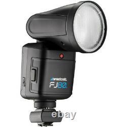 Westcott Fj80 Universal Touchscreen 80ws Speedlight Avec Adaptateur Pour Sony Camera