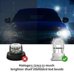White 160w 8 Ampoules Hid Cacher Danger D'urgence Avertissement Strobe Light Kit