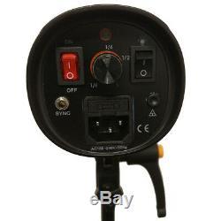 Wireless Stroboscope Umbrella 300w Réflecteur Studio Pro Kit D'éclairage Pour Reflex Numérique