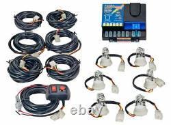 Wolo Lightning Plus 6 Outlet Light Strobe Kit Clear, 6 Flash Patterns, 120 Watts