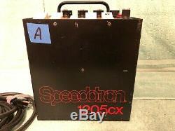 (lota) Speedotron 1205cx Studio Strobe Alimentation 1200 Watt / Sec 120v